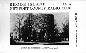 "1960's era QSL for use by NCRC Members (""Work 5 members for a certificate"" is printed on the back of the card)"