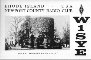 W1SYE QSL from 1960's (based on use of MC prior to the 70's vs. MHz)