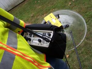 RFI Receiver at Work